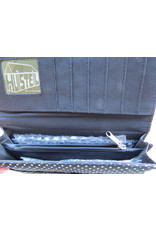 Huisteil Large retro wallet - groovy