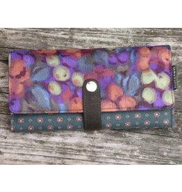 Huisteil Grote retro portemonnee - multicolor