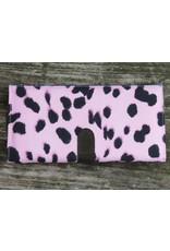 Huisteil Large retro wallet - pink