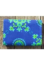 Huisteil Kleine retro portemonnee - blauw