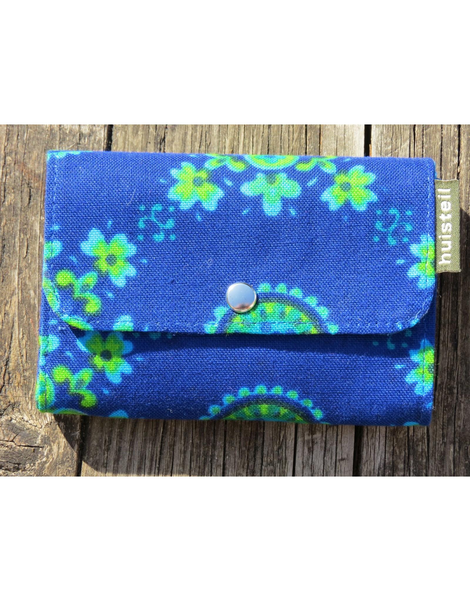 Huisteil Small retro purse - blue
