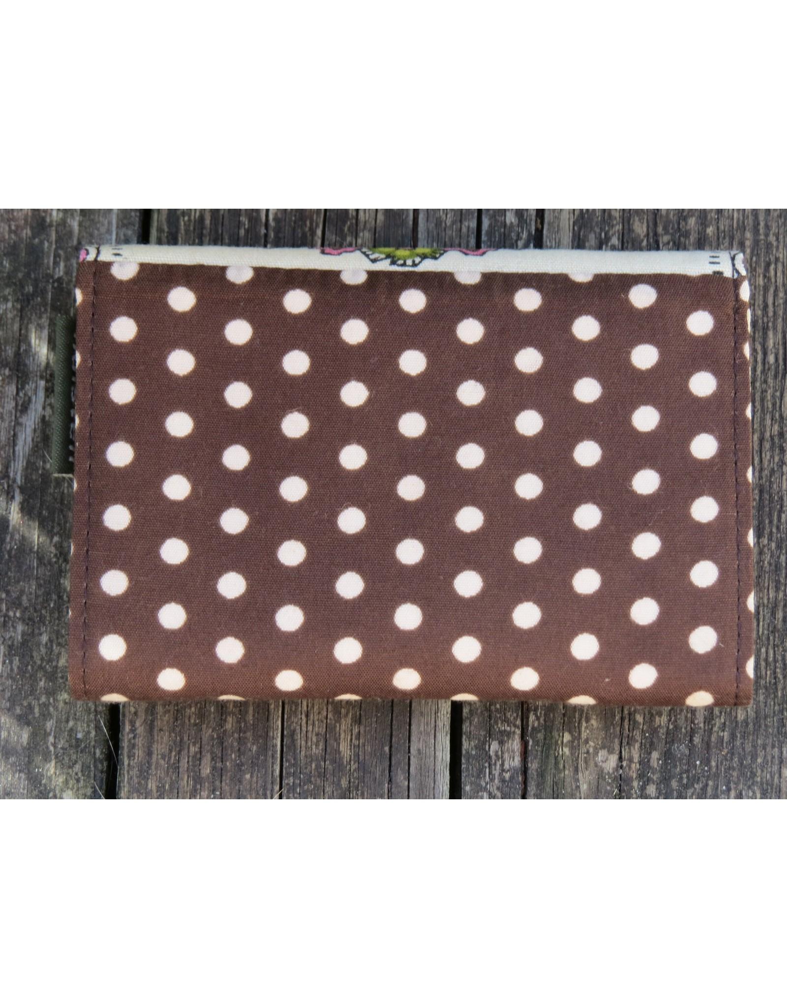 Huisteil Small retro purse - brown