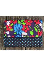 Huisteil Kleine retro portemonnee - gekleurd