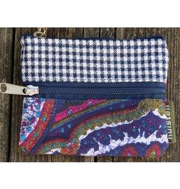 Huisteil Kleine vintage portemonnee - blauw