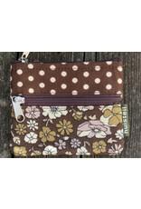 Huisteil Kleine vintage portemonnee - bruin