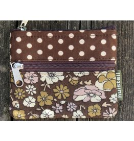 Huisteil Small vintage purse - brown