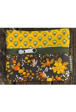 Huisteil Small vintage purse - yellow