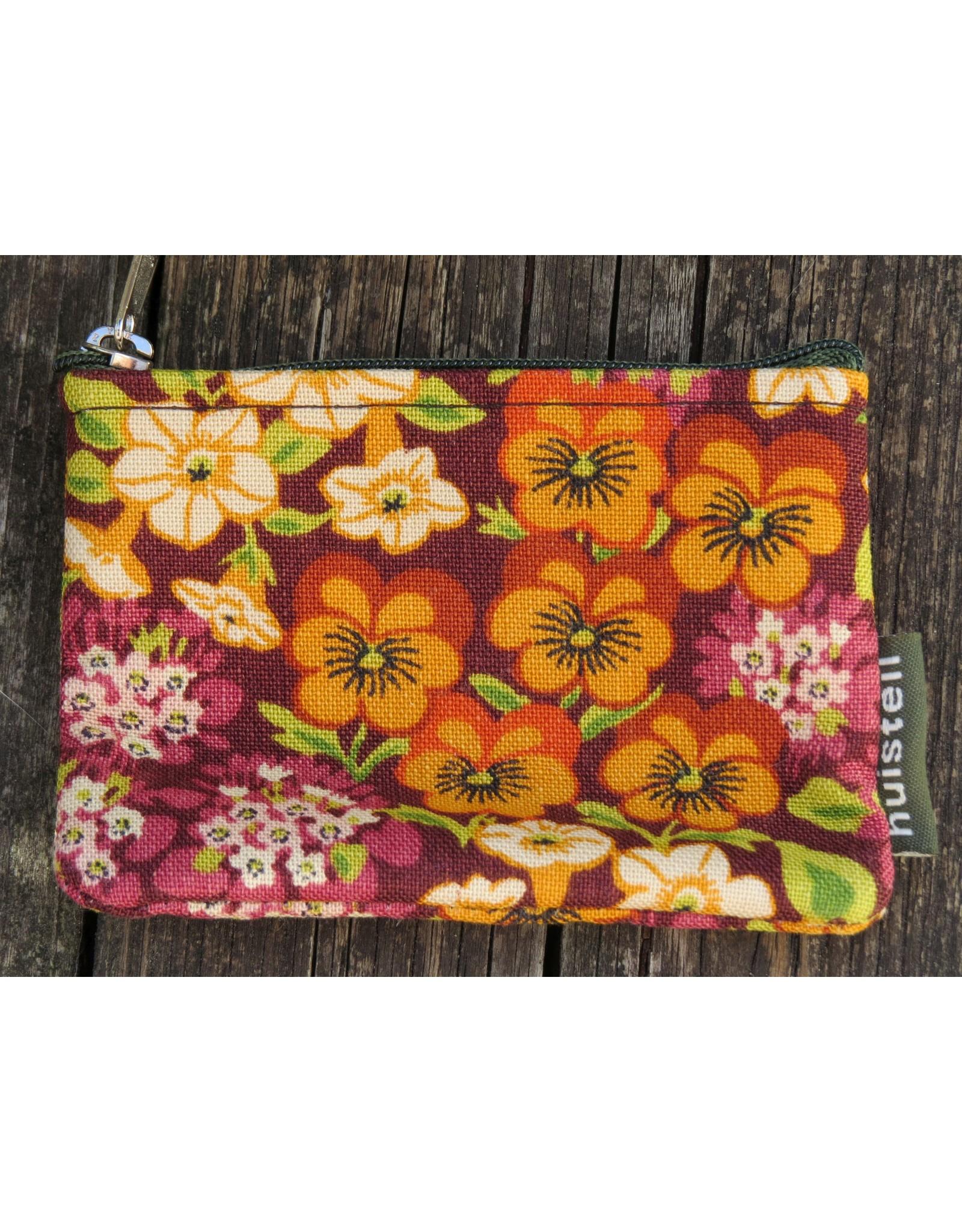 Huisteil Kleine vintage portemonnee - bloemig