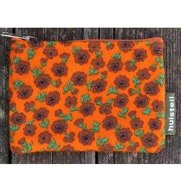 Huisteil Small vintage purse - orange