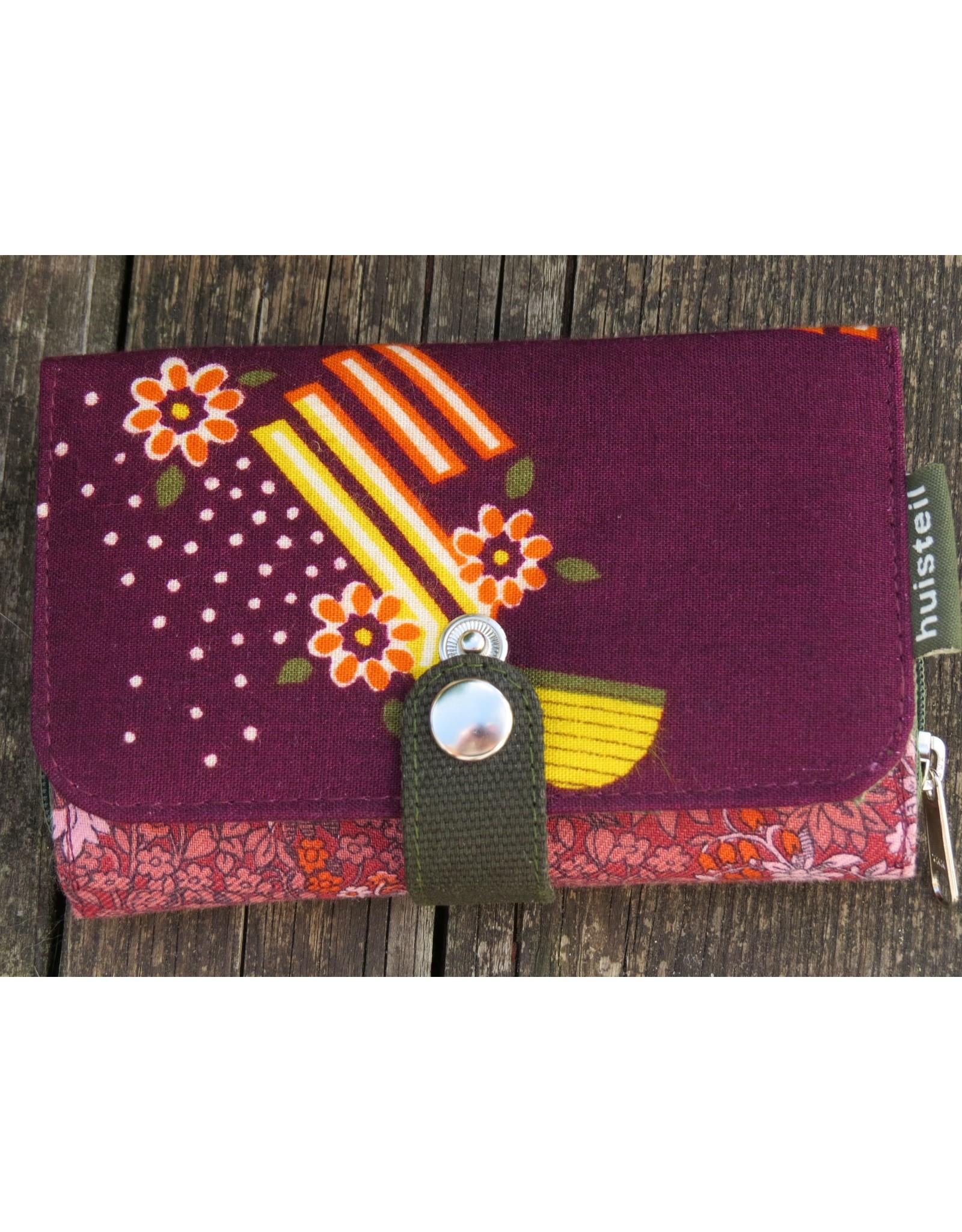 Huisteil Medium vintage wallet - purple