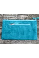 Huisteil Vintage wallet - mobile phone - corduroy