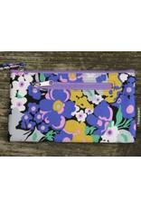 Huisteil Vintage wallet - mobile phone - purple