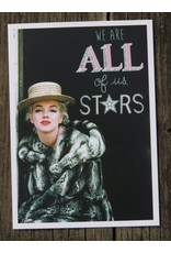 Ansicht kaart Marily Monroe - We are all of us stars
