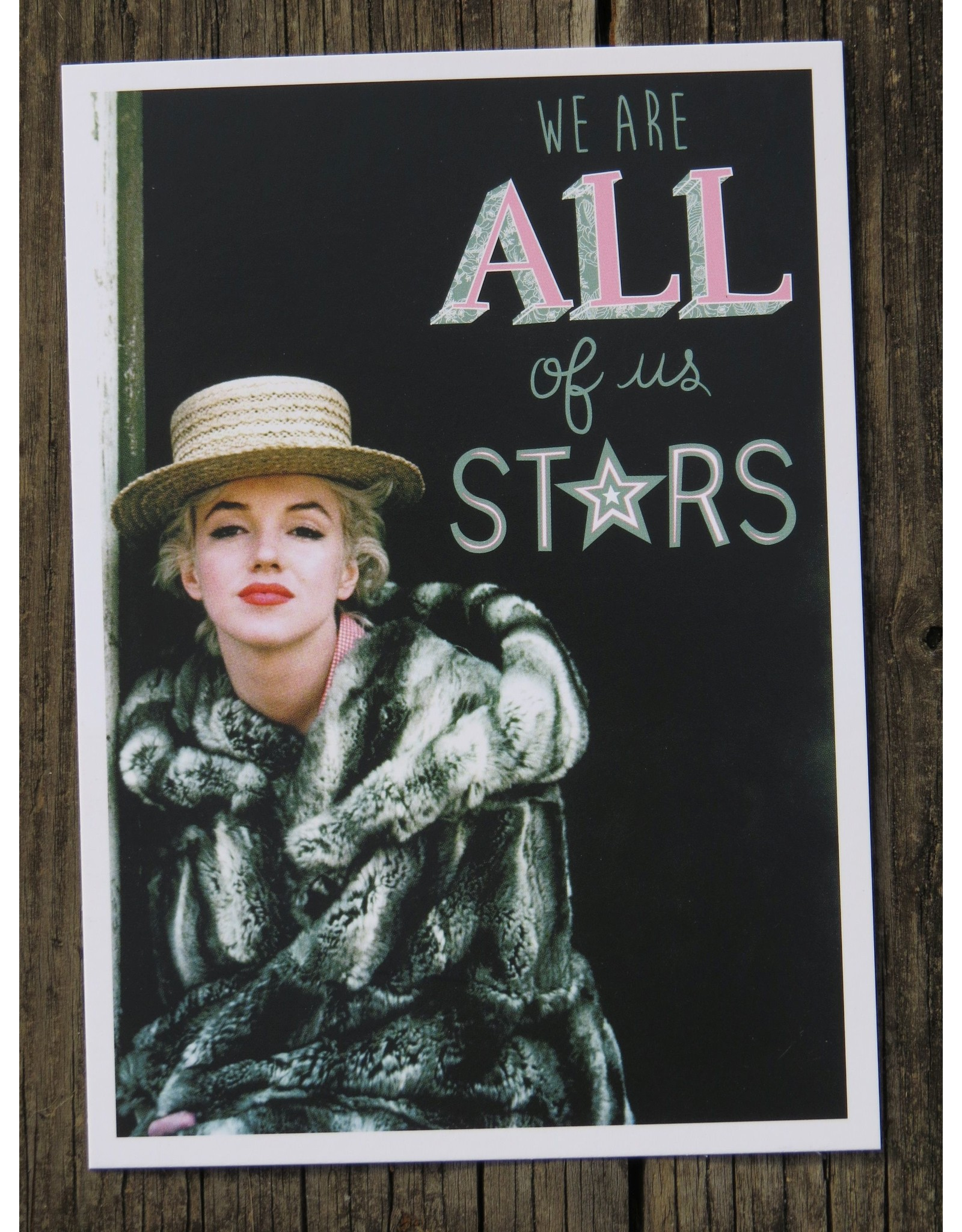 Card - Marilyn Monroe
