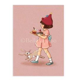 Belle & Boo kaart - Een taartje voor jou