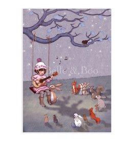 Belle & Boo kaart - slaapliedje