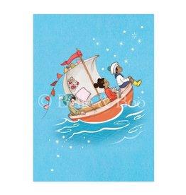 Belle & Boo kaart - zeilboot dromen