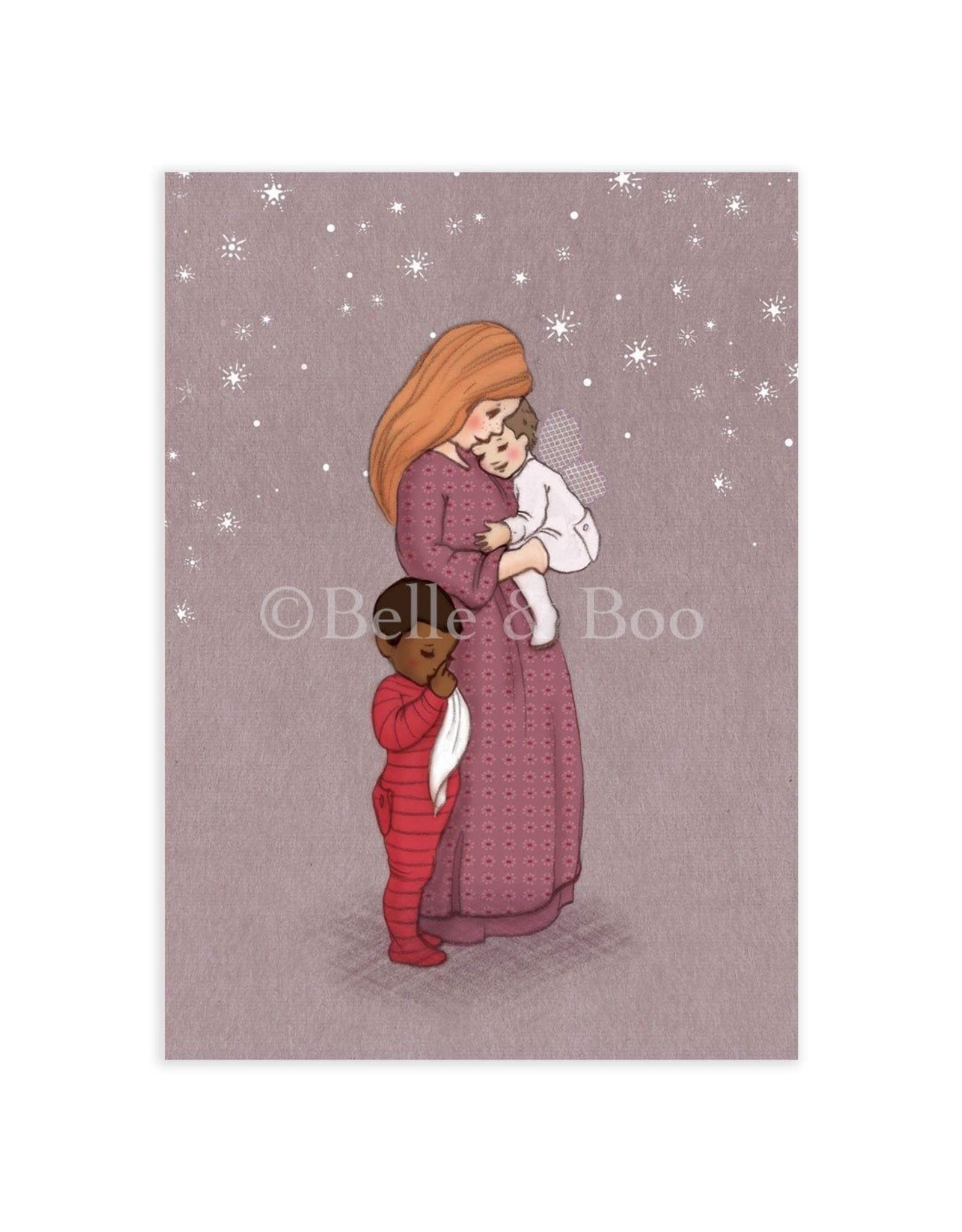 Belle & Boo card - sweet dreams
