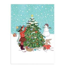 Belle & Boo christmas card - very merry christmas