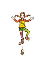 Pippi Langkous Pippi Longstocking - diy pull doll