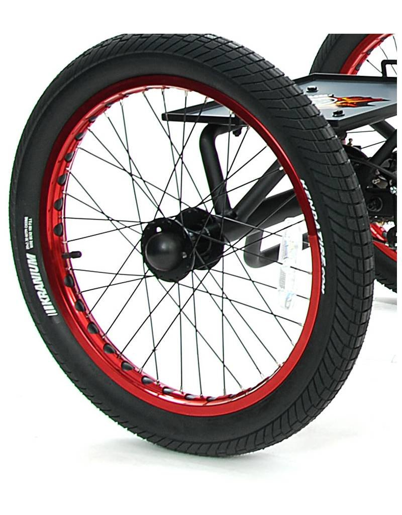 Mission MX driewieler - BMX 16 inch