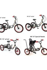 Mission MX driewieler - BMX 24 inch