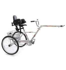 Comfort driewieler aanhangfiets - Piggyback