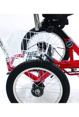 Mission kinder driewieler - Rehatri 20 inch met achterstuur