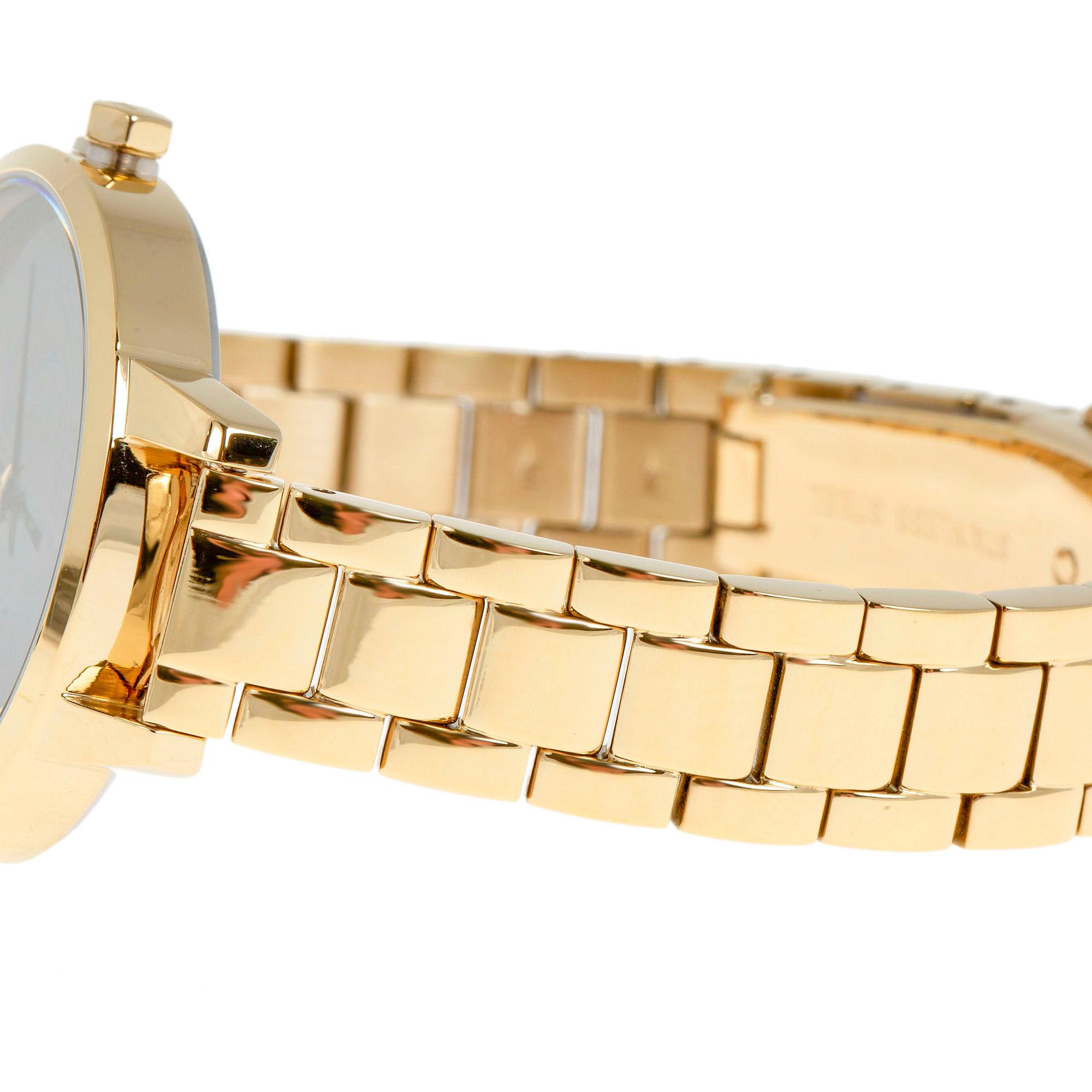 Karl Lagerfeld Dames horloge Klassic K Bracelet Gold Black