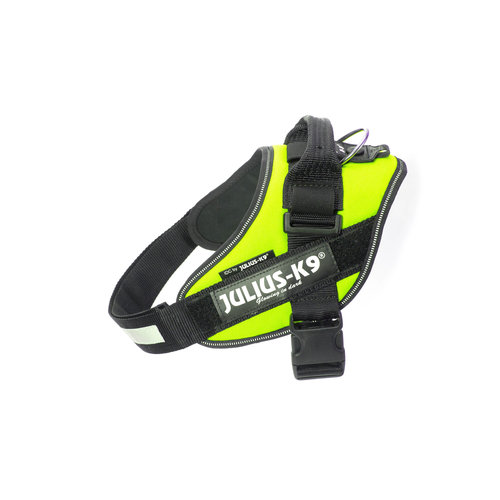 JULIUS-K9®  - für Hunde, para perros, for Dogs IDC® POWERHARNESS Neon