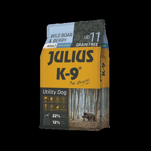 JULIUS-K9®  - für Hunde, para perros, for Dogs JULIUS-K9® Utility Dog Wildschwein & Beeren