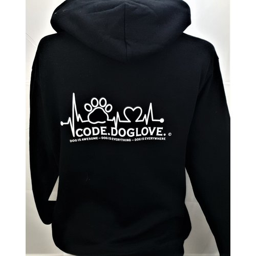 Dog is Awesome® Hoodie Unisex: CODE.DOGLOVE