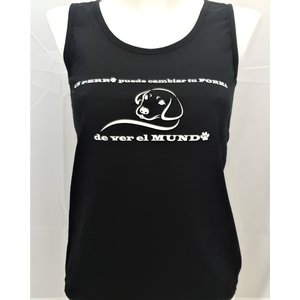 Dog is Awesome® Lady-Fit Tank Top: Un perro puede cambiar