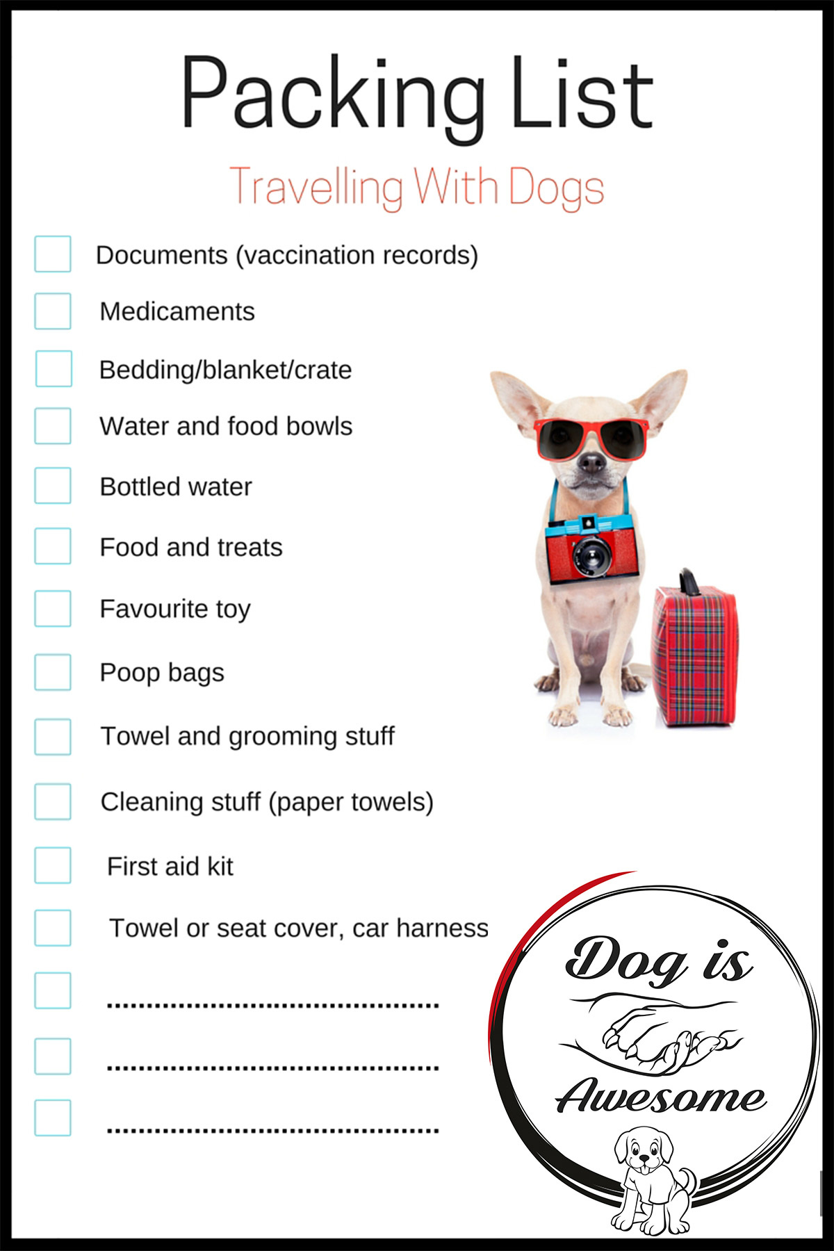 PackingList_Dogtravel
