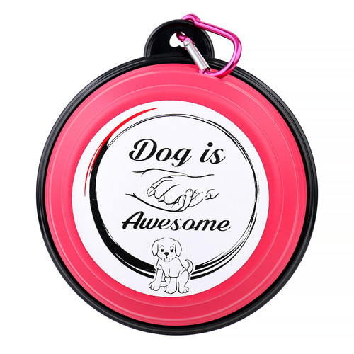 Dog is Awesome® Reisenapf faltbar DIA®
