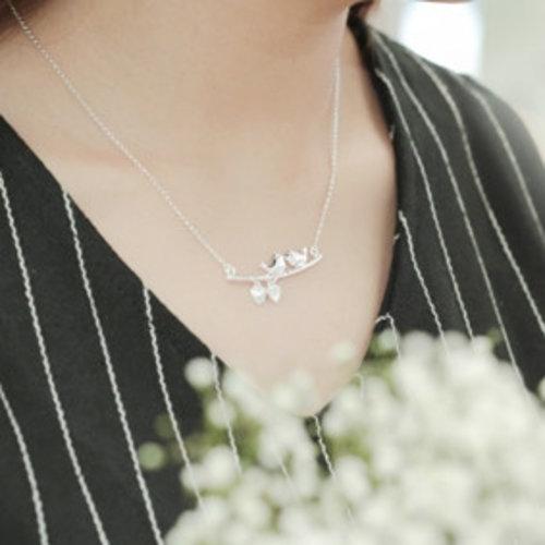 Zilveren natuur sieraden