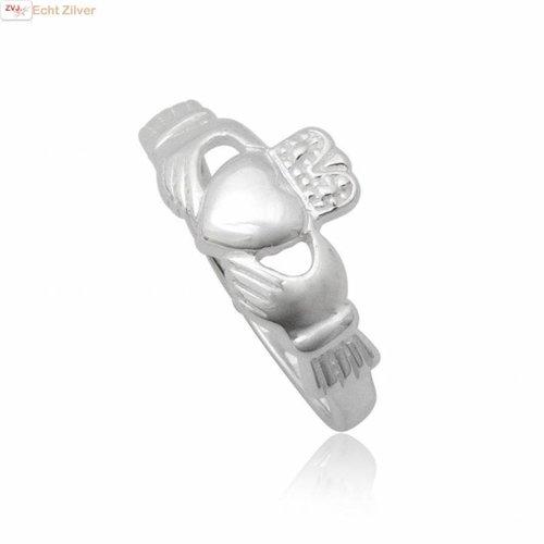 ZilverVoorJou OUTLET Zilveren 925 ierse keltische claddagh ring