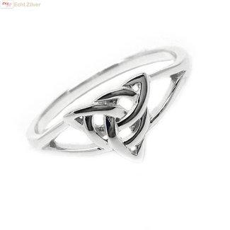 ZilverVoorJou Zilveren fijne Keltische ring