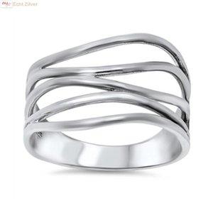 ZilverVoorJou Zilveren sier draad  ring