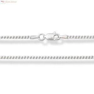 ZilverVoorJou Zilveren gourmet ketting 50 cm 1.7 mm breed