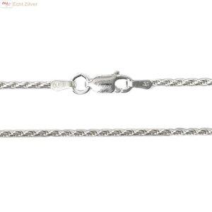 ZilverVoorJou Zilveren rope ketting 50 cm 1.6 mm