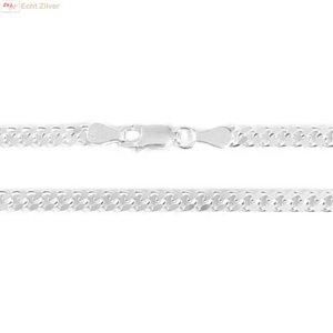 ZilverVoorJou Zilveren gourmet ketting 3.5 mm breed 55 cm lang