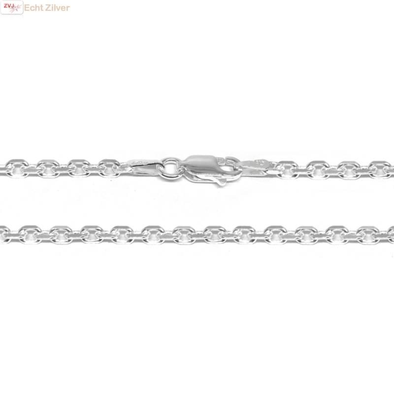 Zilveren anker ketting 55 cm en 2.7 mm breed-1