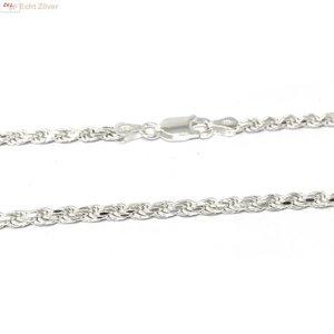ZilverVoorJou Zilveren rope ketting 60 cm 2.8 mm