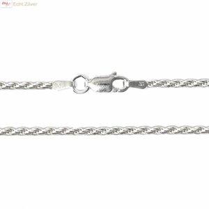ZilverVoorJou Zilveren rope ketting 70 cm 1.8 mm