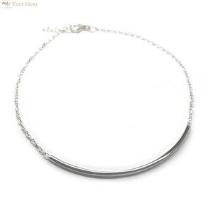 ZilverVoorJou Zilveren bar staaf armbandje
