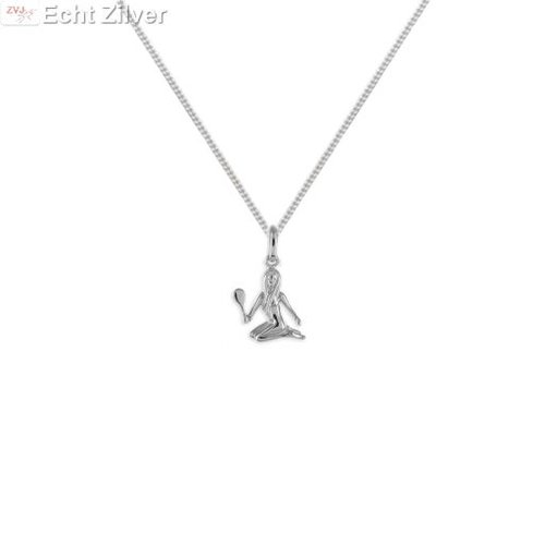 ZilverVoorJou Zilveren sterrenbeeld collier maagd