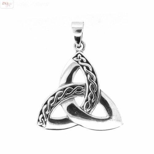ZilverVoorJou Zilveren Keltische hanger