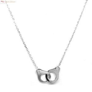 ZilverVoorJou OUTLET Zilveren handboei collier