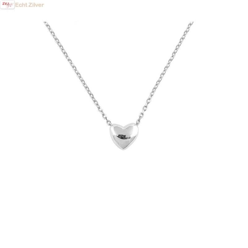 Verrassend Zilveren ketting mini hart - ZilverVoorJou OW-27